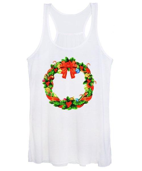 Christmas Wreath Women's Tank Top
