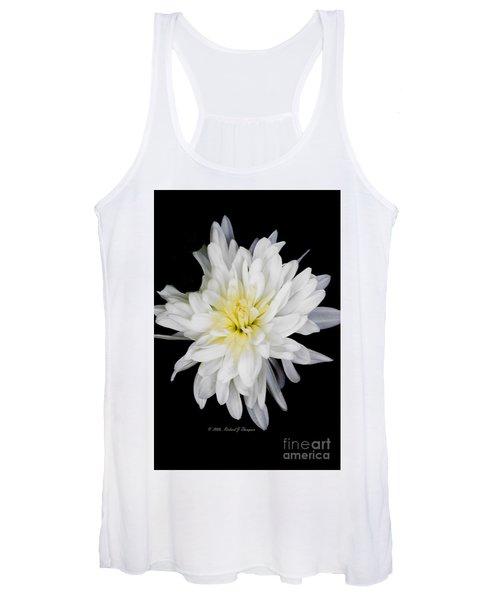 Chrysanthemum Bloom Women's Tank Top