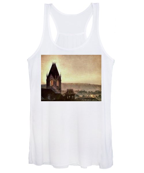 Church Steeple 4 For Cup Women's Tank Top