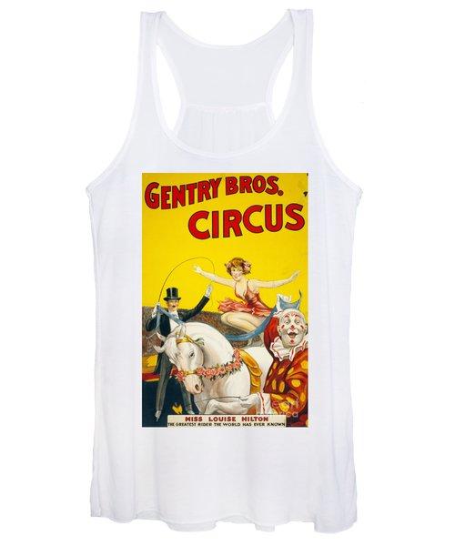 Circus, Gentry Bros., C1930.  Women's Tank Top