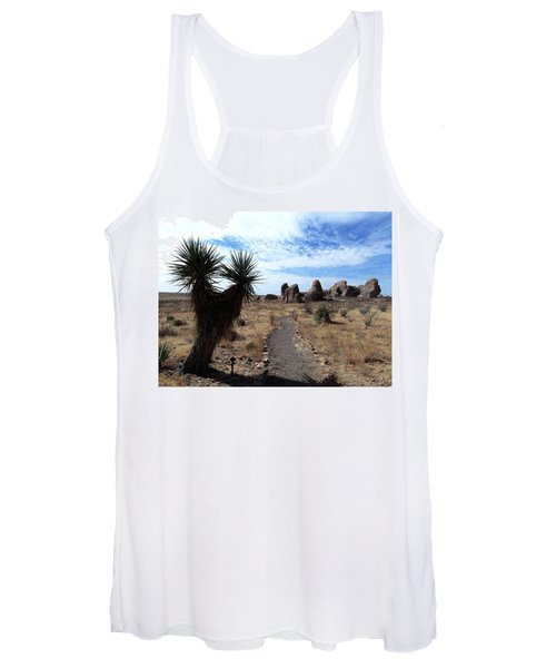City Of Rocks - New Mexico Women's Tank Top