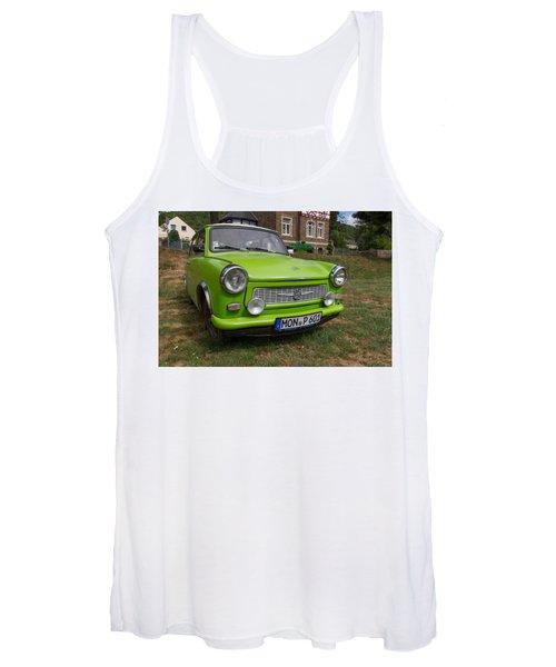 Classic Trabant Car Women's Tank Top
