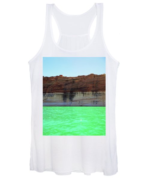 Cliff At Lake Powell Women's Tank Top