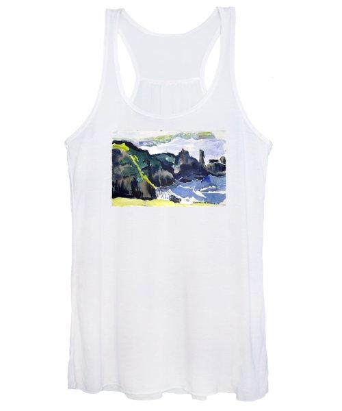 Cliffs In The Sea Women's Tank Top