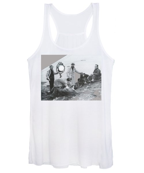 Clifton Young And Bogie Fight To The Death Dark Passage 1947-2016 Women's Tank Top