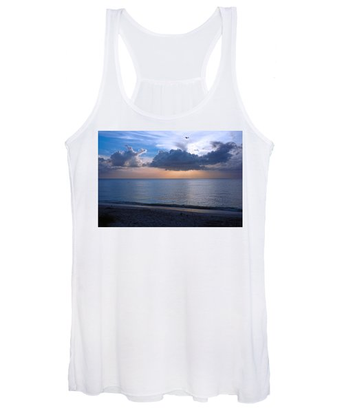 Cloud Creatures At Delnor Wiggins Pass State Park Women's Tank Top