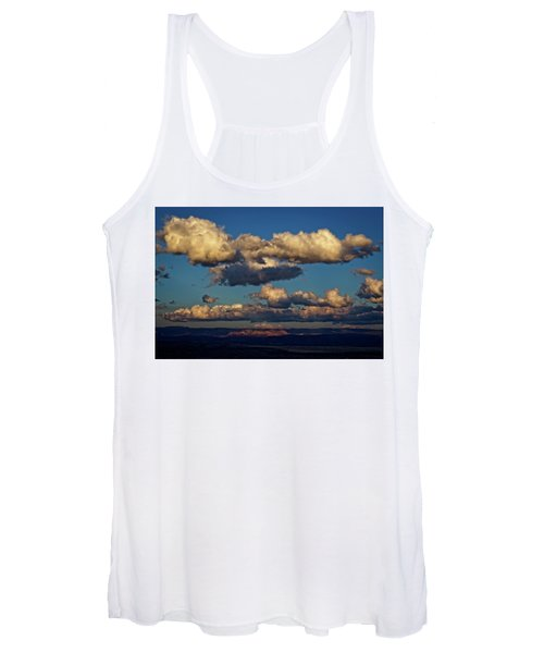 Clouds And Red Rocks Hdr Women's Tank Top