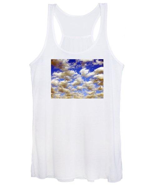 Clouds Blue Sky Women's Tank Top