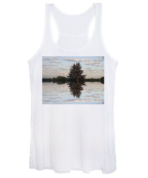 Clouds Up And Down Women's Tank Top
