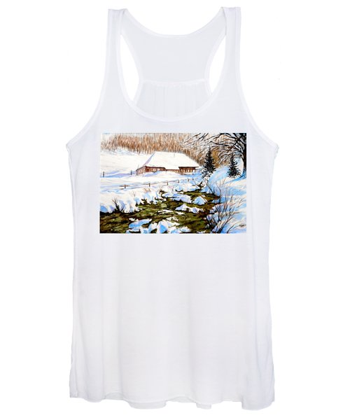 Clubhouse In Winter Women's Tank Top