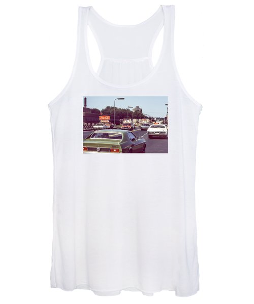 Coca Cola Plant On Central Ave Women's Tank Top