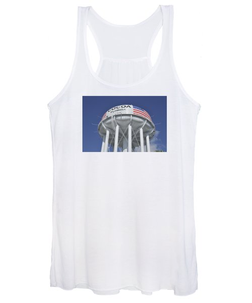 Cocoa Florida Water Tower Women's Tank Top