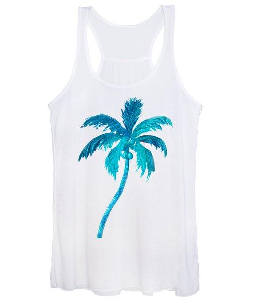 Coconut Palm Tree Women's Tank Top