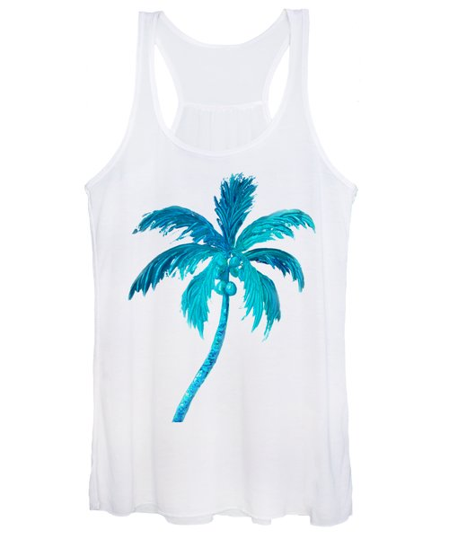 Coconut Palm Tree Women's Tank Top