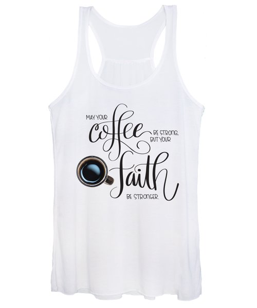 Coffee And Faith Women's Tank Top
