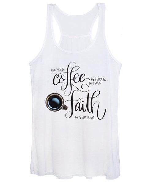 Coffee And Faith Women's Tank Top