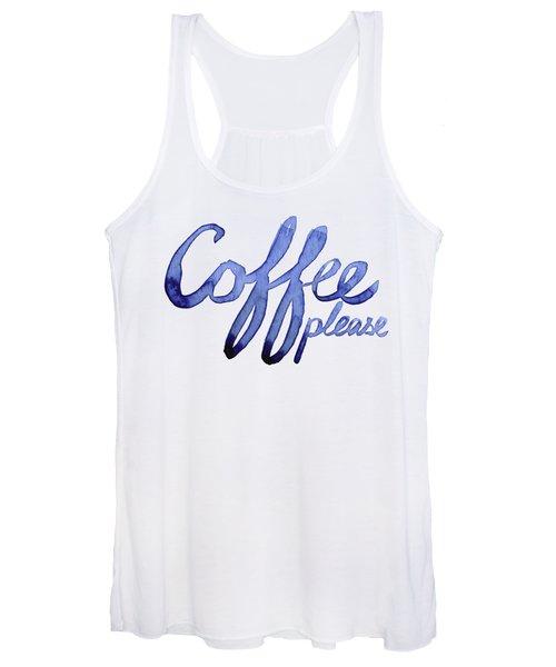 Coffee Please Women's Tank Top