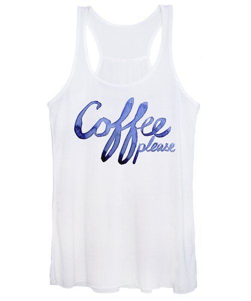 Coffee Please Women's Tank Top