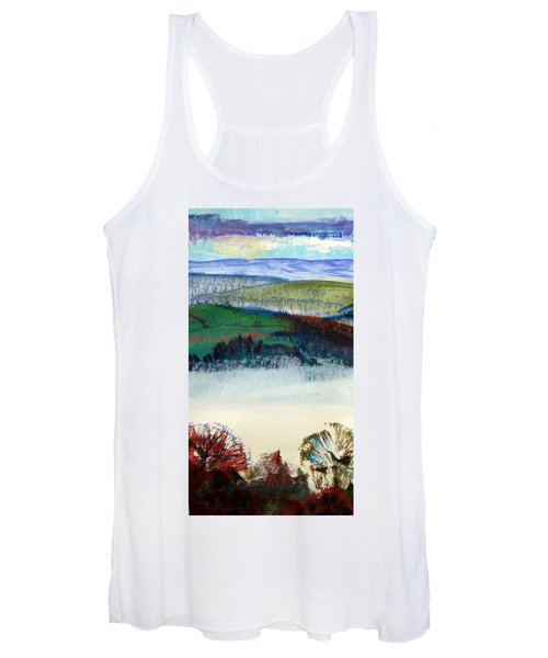Cold Bright Morning England Women's Tank Top