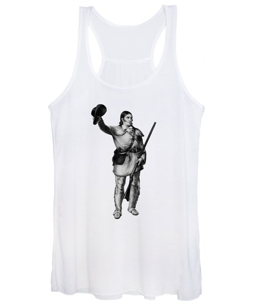Colonel Davy Crockett Women's Tank Top