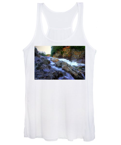 Color Steps At Livermore Falls Women's Tank Top