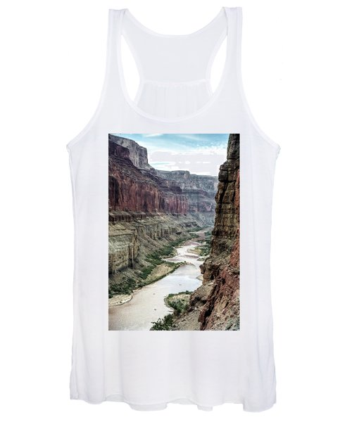 Colorado River And The East Rim Grand Canyon National Park Women's Tank Top