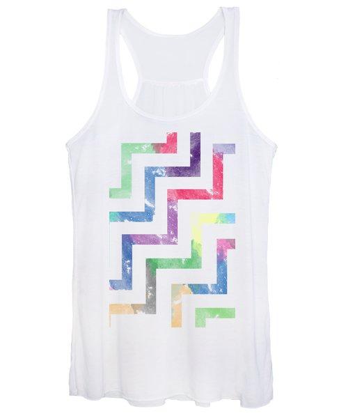 Colorful Geometric Patterns Vi Women's Tank Top
