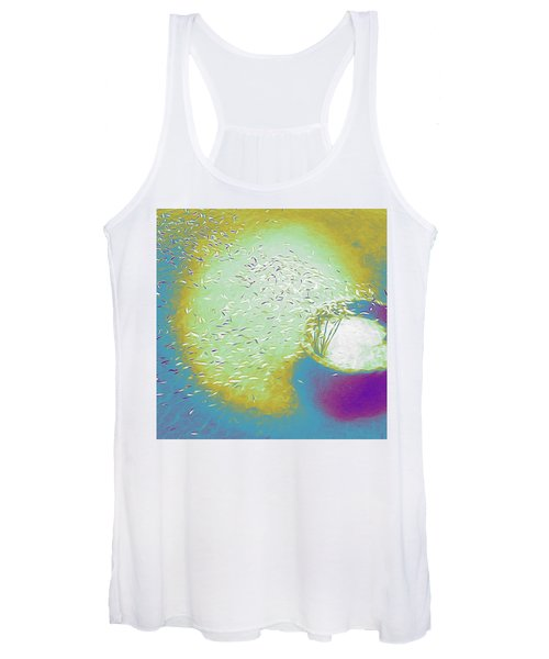 Colorful Pond Women's Tank Top