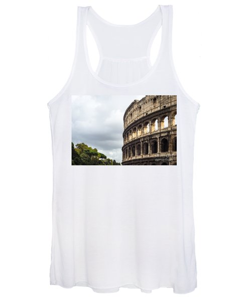 Colosseum Closeup Women's Tank Top