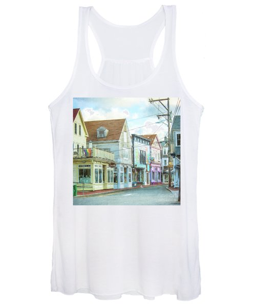 Commercial St #1 Women's Tank Top
