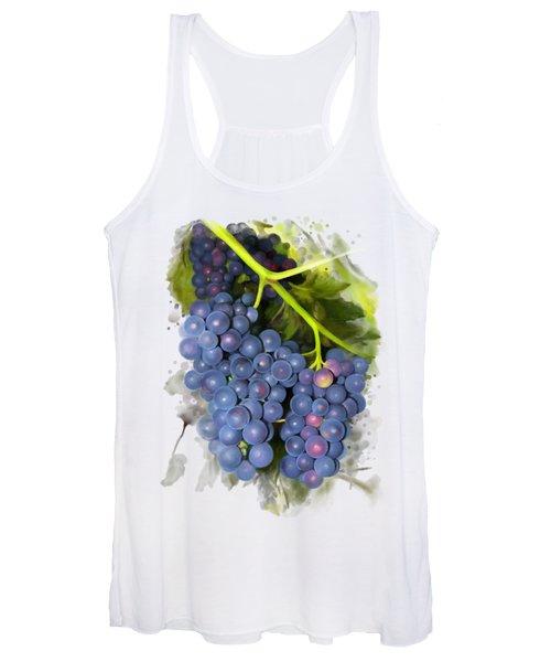 Concord Grape Women's Tank Top