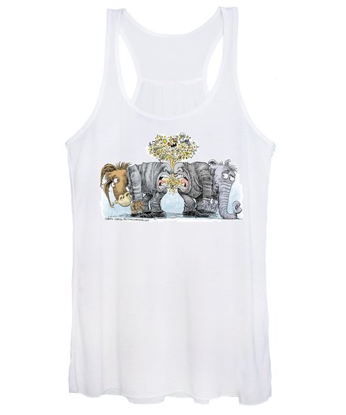 Congress Talking Out Of Their Butts Women's Tank Top