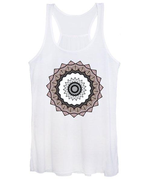 Construction Mandala By Kaye Menner Women's Tank Top