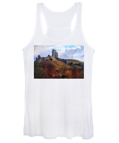 Corfe Castle - England Women's Tank Top