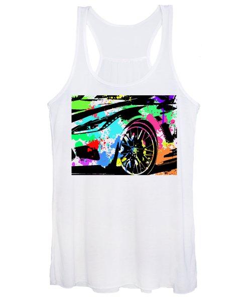 Corvette Pop Art 3 Women's Tank Top