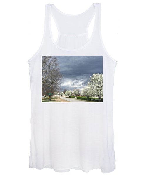 Country Club Circle Women's Tank Top