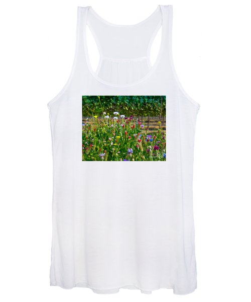 Country Wildflowers II Women's Tank Top