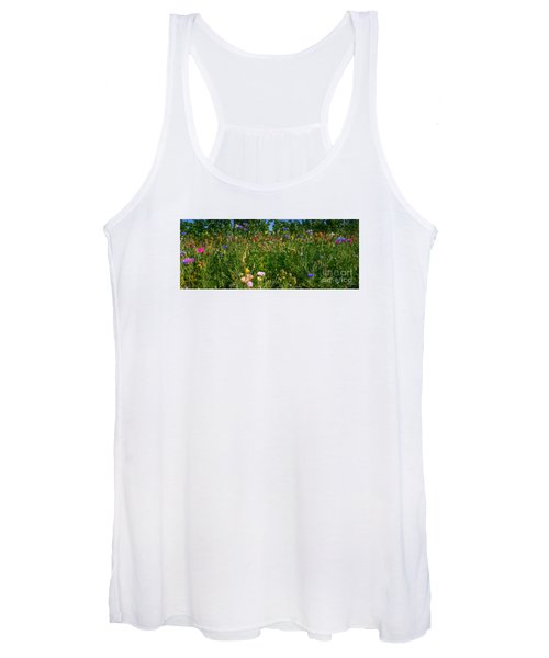 Country Wildflowers IIi Women's Tank Top