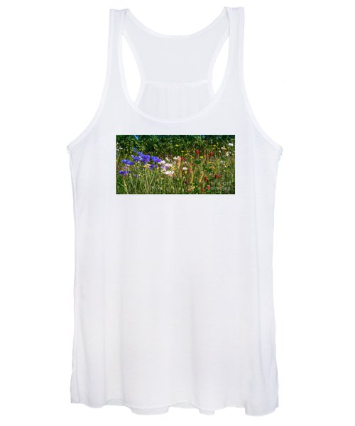 Country Wildflowers Iv Women's Tank Top