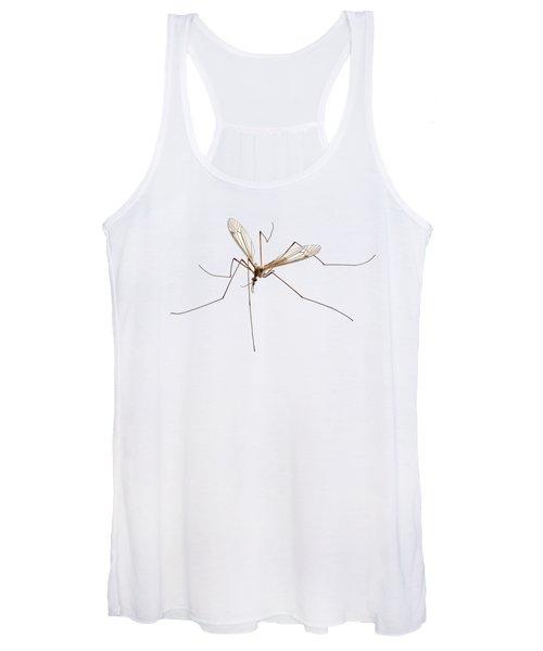 Cranefly Species Tipula Oleracea Women's Tank Top