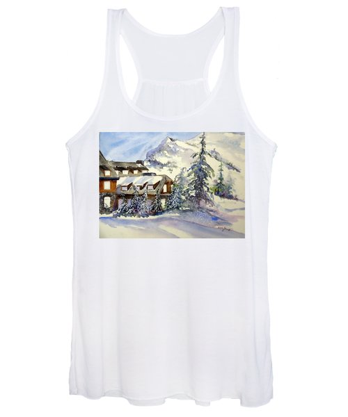 Crater Lake Lodge - Closed For Winter    Women's Tank Top