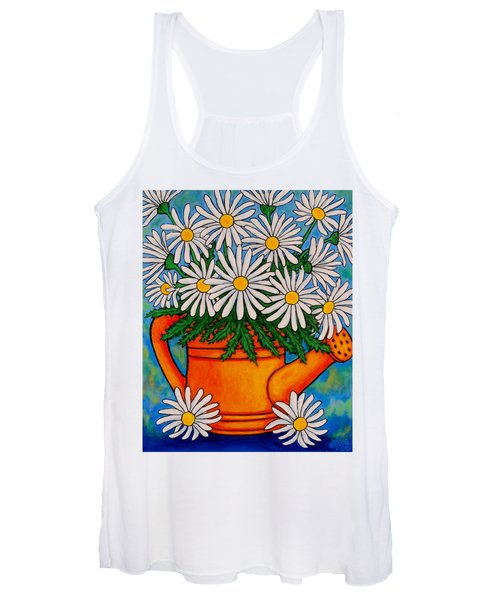 Crazy For Daisies Women's Tank Top