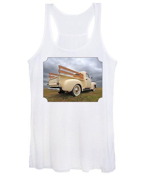 Cream Of The Fifties - Chevy Truck 1950 Women's Tank Top