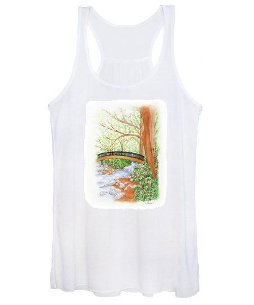 Creek Crossing Women's Tank Top