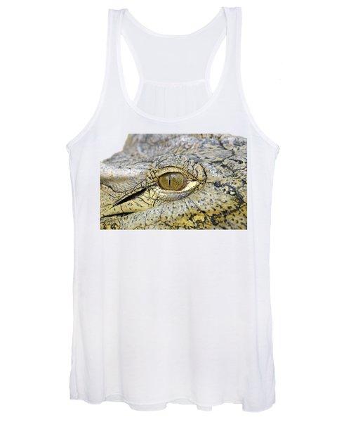 Crocodile Eye Women's Tank Top