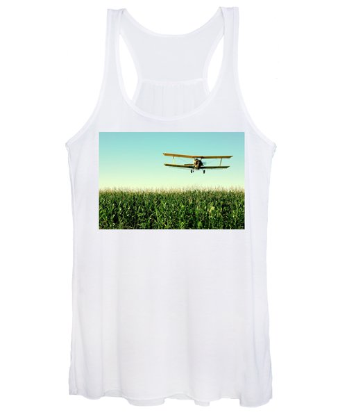 Crops Dusted Women's Tank Top