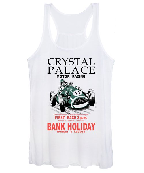 Crystal Palace Motor Racing Women's Tank Top