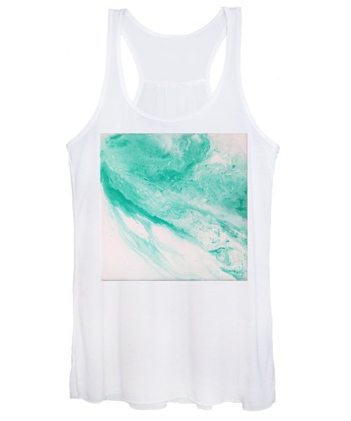 Crystal Wave 1 Women's Tank Top