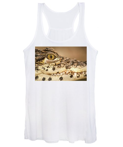 Cuban Croc Smile Women's Tank Top