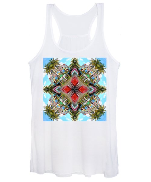 Cuban Kaleidoscope Women's Tank Top
